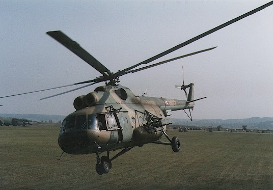 Mi-8 multi-purpose copter.  Type used for SAR missions.